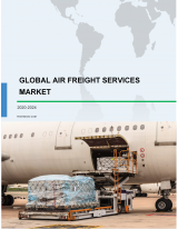 Air Freight Services Market by End-users and Geography - Forecast and Analysis 2020-2024